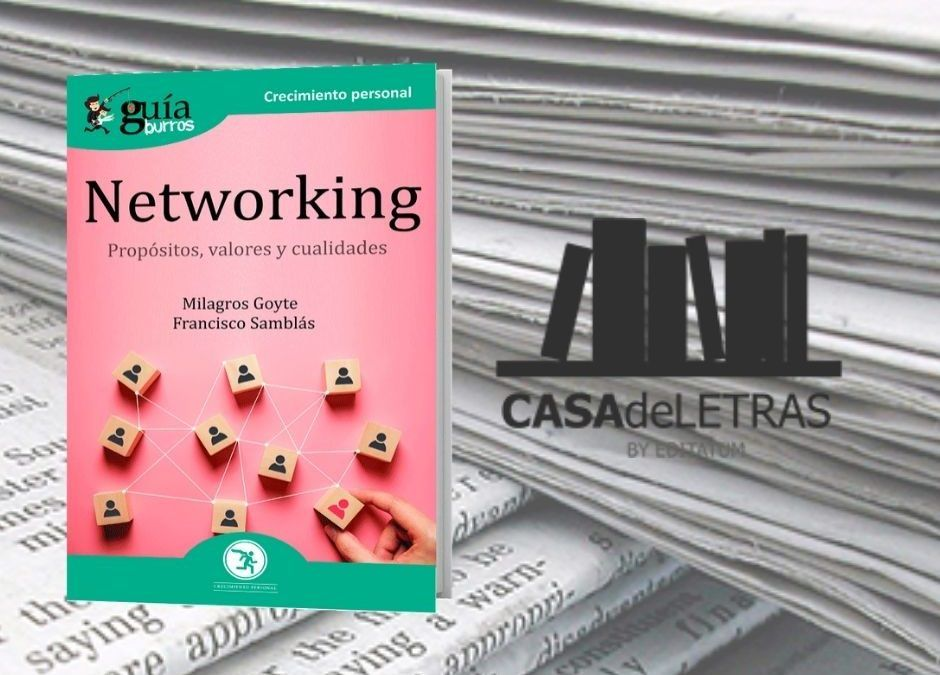 El 'GuíaBurros: Networking' en el medio Casa de Letras