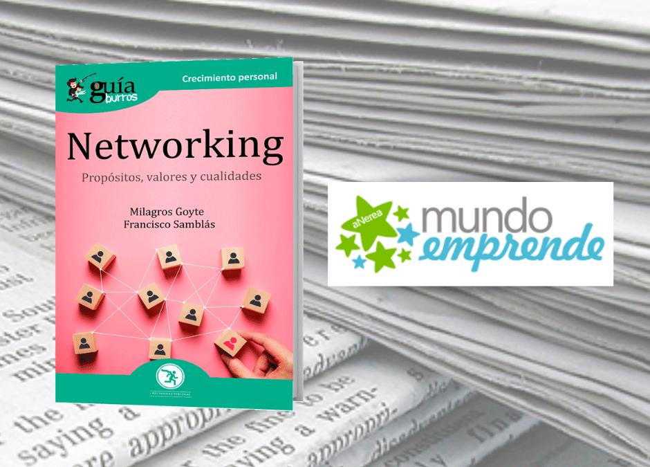 El 'GuíaBurros: Networking' en la web de Mundo Emprende